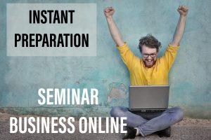 Seminar Bisnis Online
