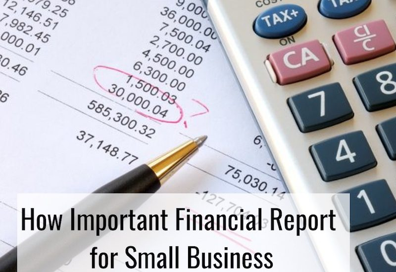 Laporan Keuangan Usaha Kecil Menengah